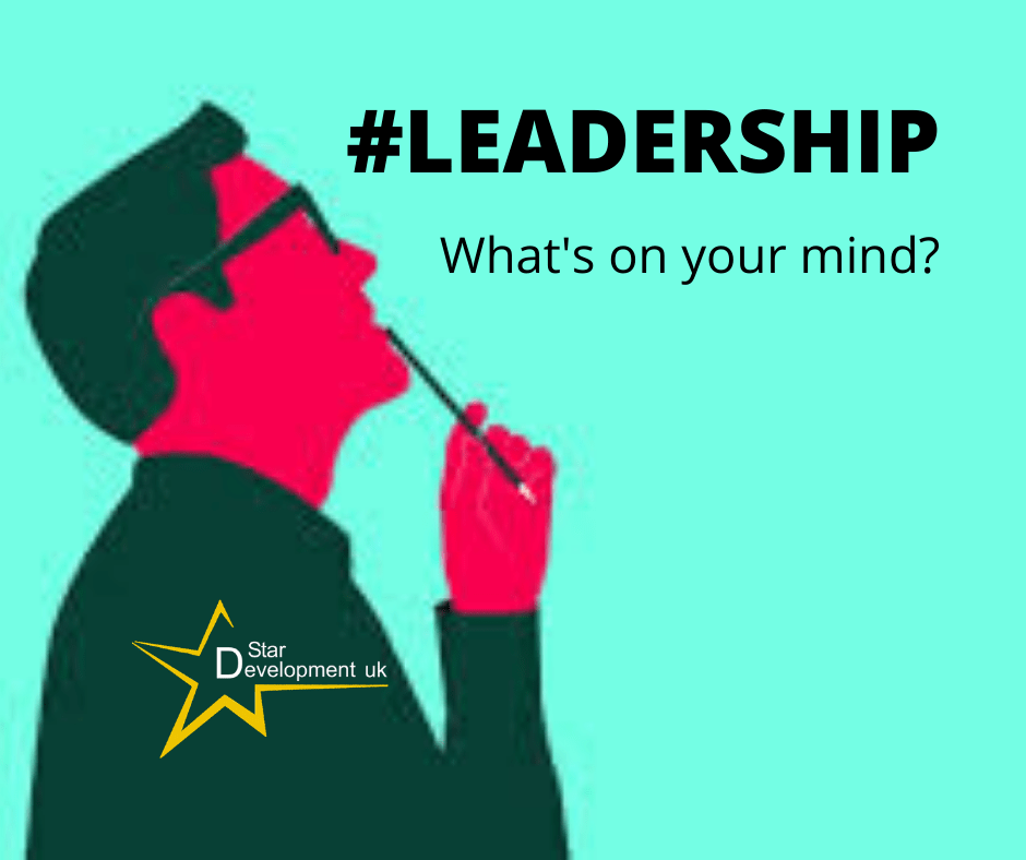 Leadership - Whats on your mind?